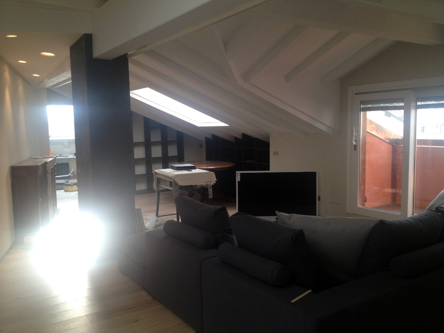 Progetto ristrutturazione appartamento residenziale in for Idee ristrutturazione appartamento