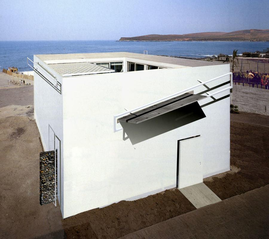 Progetto costruzione casa architettura forata idee Idee architettura