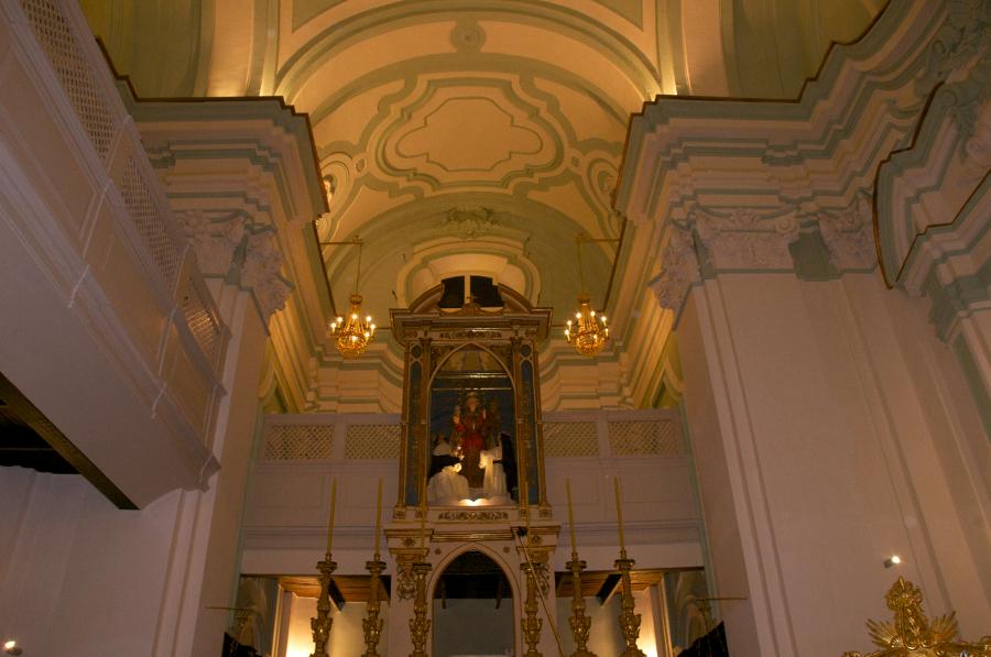 Area cupola chiesa di Santa Maria del SS. Rosario in Castellammare di Stabia (NA) dopo il restauro