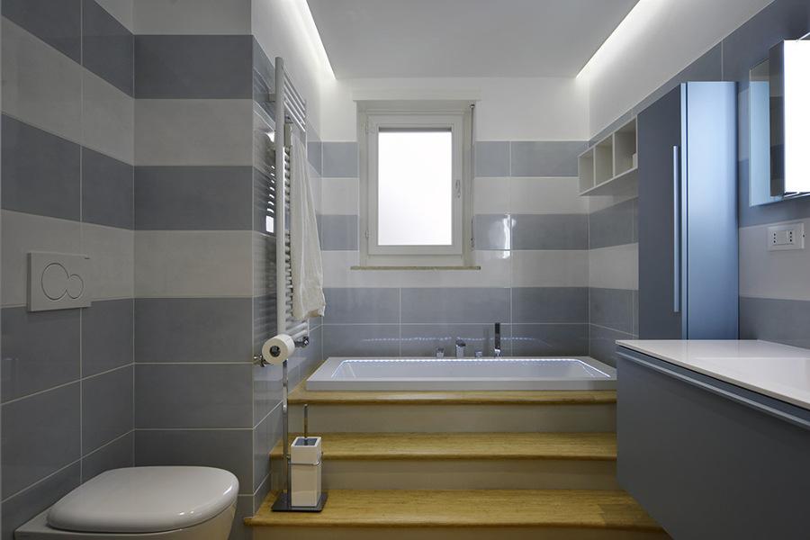 Area relax nel bagno