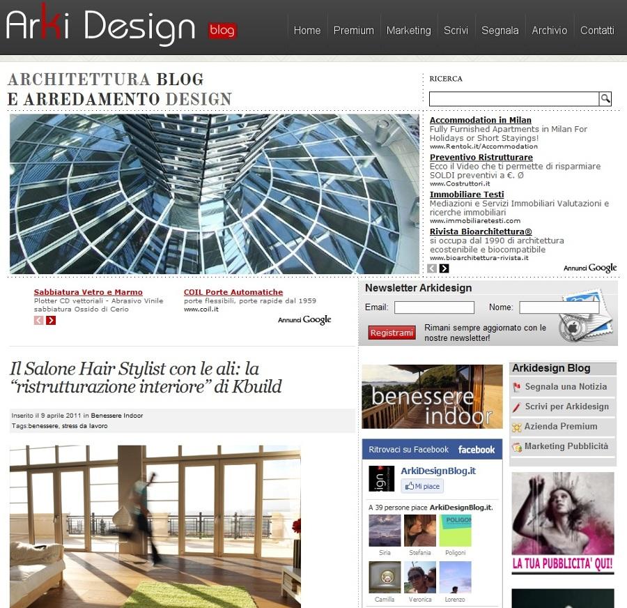 blog di arki design architettura blog e arredamento