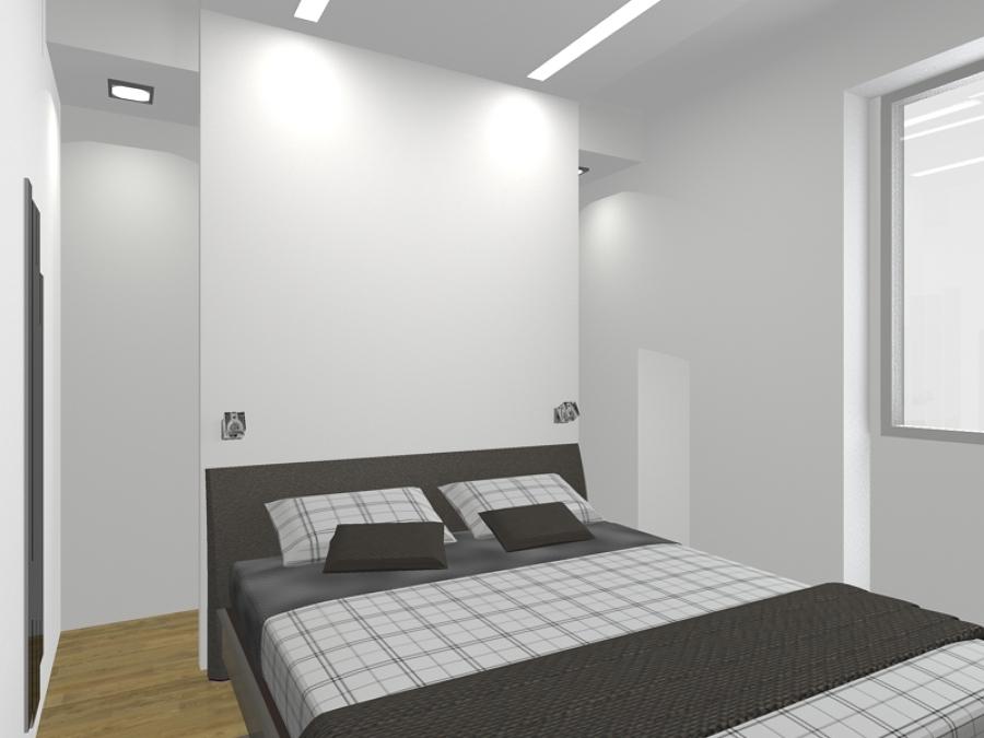 Foto camera da letto di arch mario tario 225497 habitissimo - Armadio dietro letto matrimoniale ...
