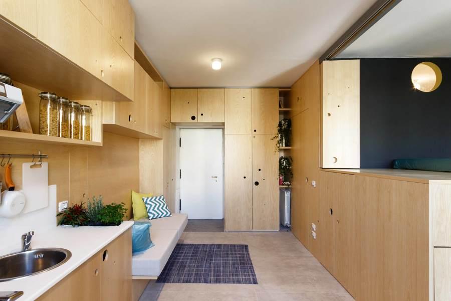 25 30 50 mq a ognuno il suo spazio come arredare piccole for Arredamento appartamento completo