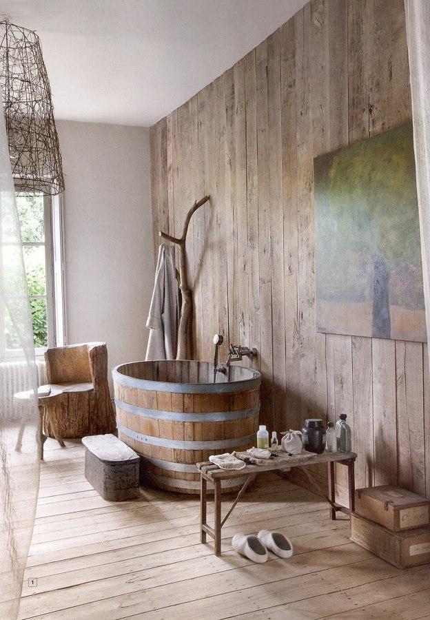 Super Foto: Arredamento Bagno Casa In Campagna di Valeria Del Treste  MI41