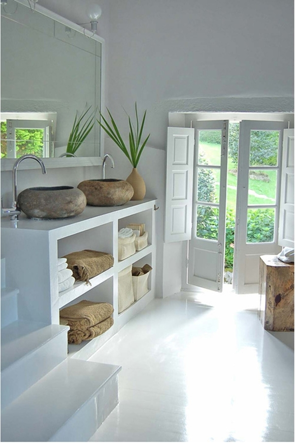 Foto arredamento bagno casa in campagna de valeria del - Bagno casa di campagna ...