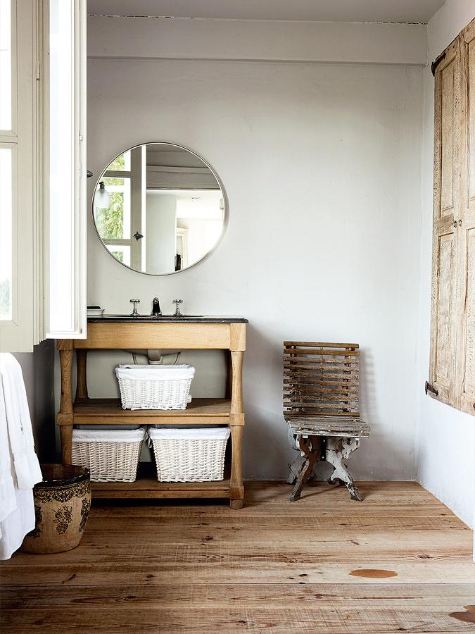 Foto arredamento bagno casa in campagna di valeria del for Immagini di arredo bagno