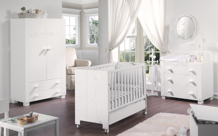 foto arredamento camera neonato di valeria del treste