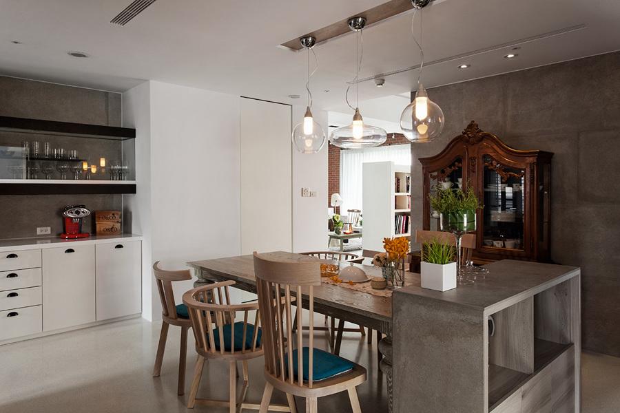 Foto arredamento contemporaneo e classico in cucina di for Arredamento classico contemporaneo