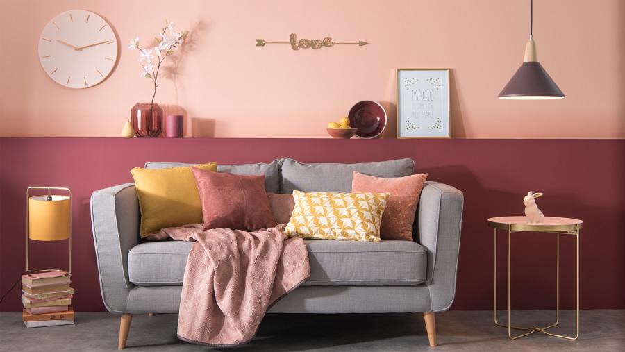 Foto arredamento rosa e grigio 637196 habitissimo for Centro divani olbia
