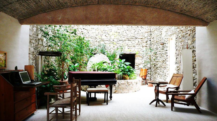 foto arredamento spazi esterni casa in campagna di