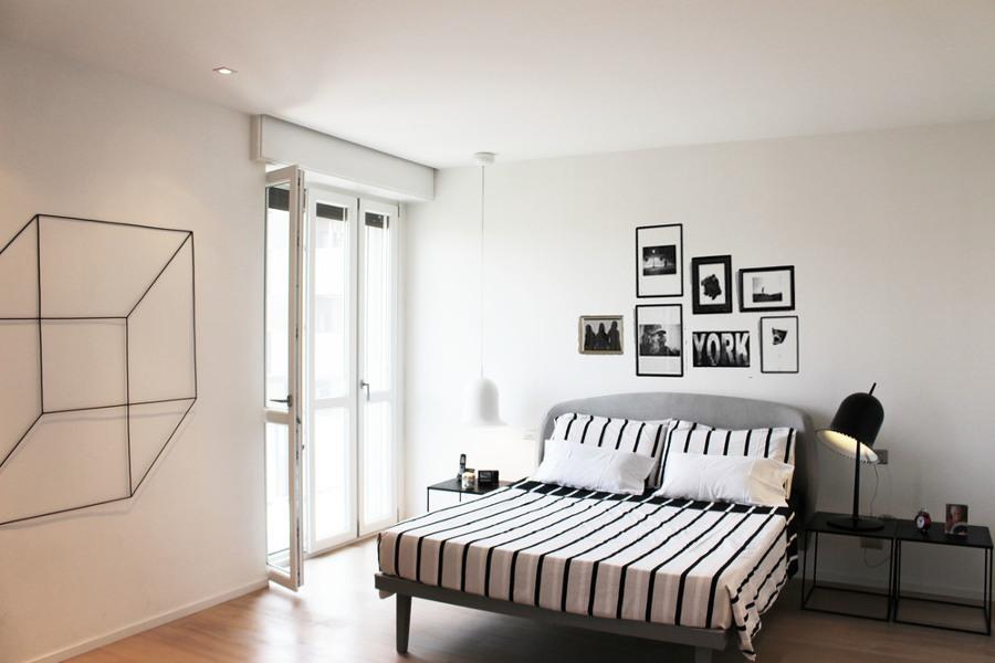 Appartamento milano idee ristrutturazione casa - Camera da letto milano ...