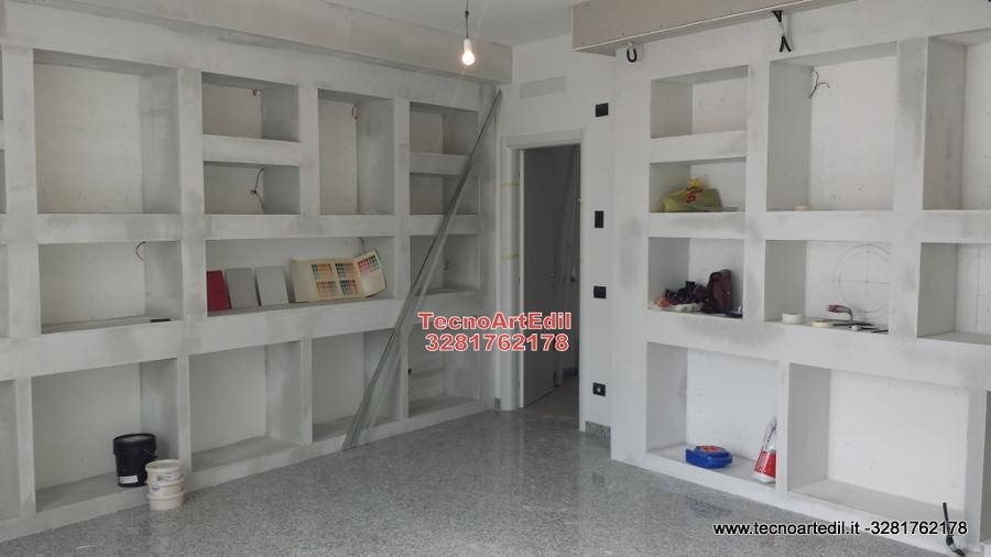 foto: arredare negozio in cartongesso di tecnoartedil #290327 ... - Idee Arredamento Negozio Frutta E Verdura