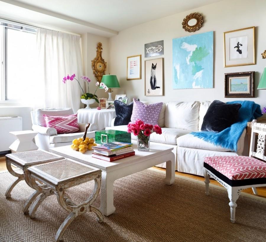 Foto arredare salotto con pi stili di marilisa dones for Foto salotto