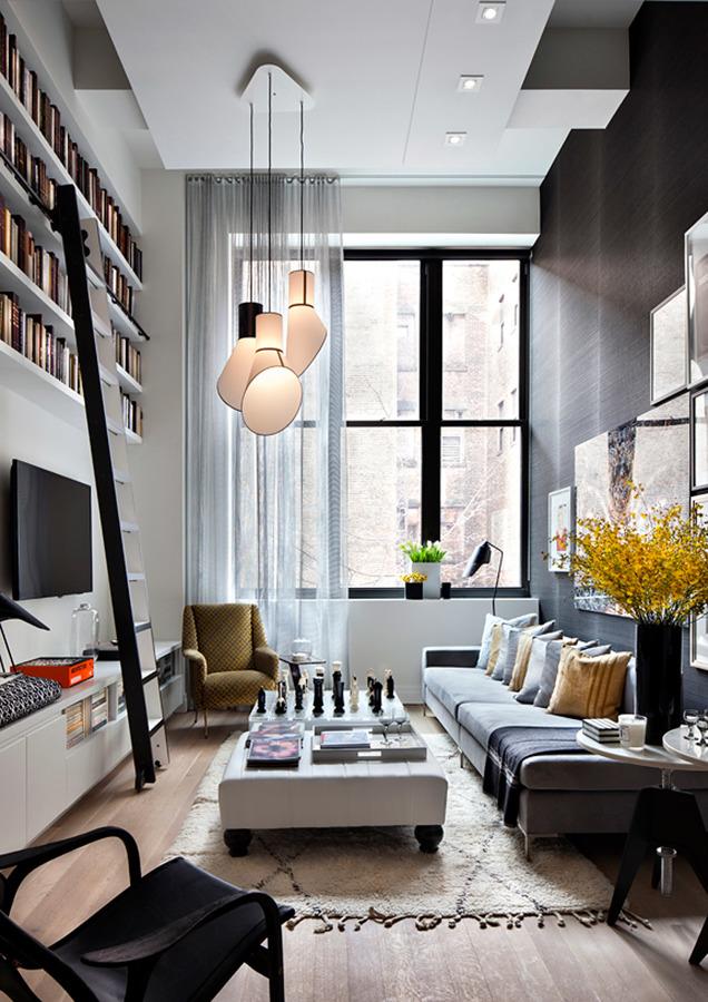 Foto arredare stanza stretta e lunga di rossella - Stanza da pranzo ...