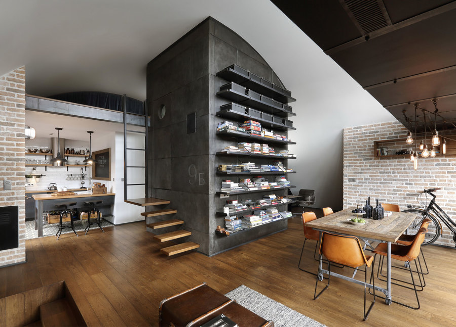 Superb Loft In Stile Industriale