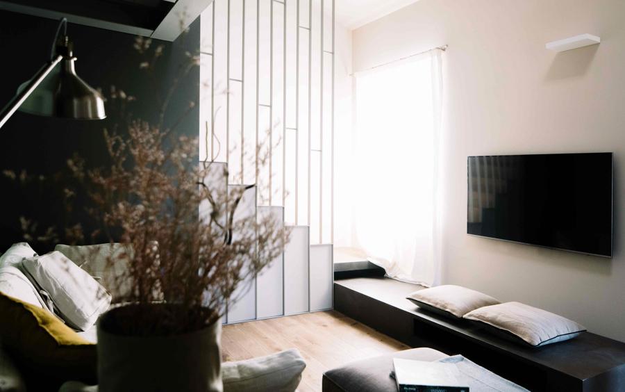 Foto arredare un salotto piccolo di rossella cristofaro for Arredare un salotto