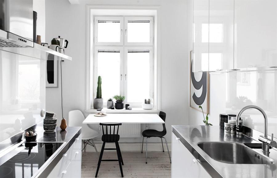Arredare una cucina stretta