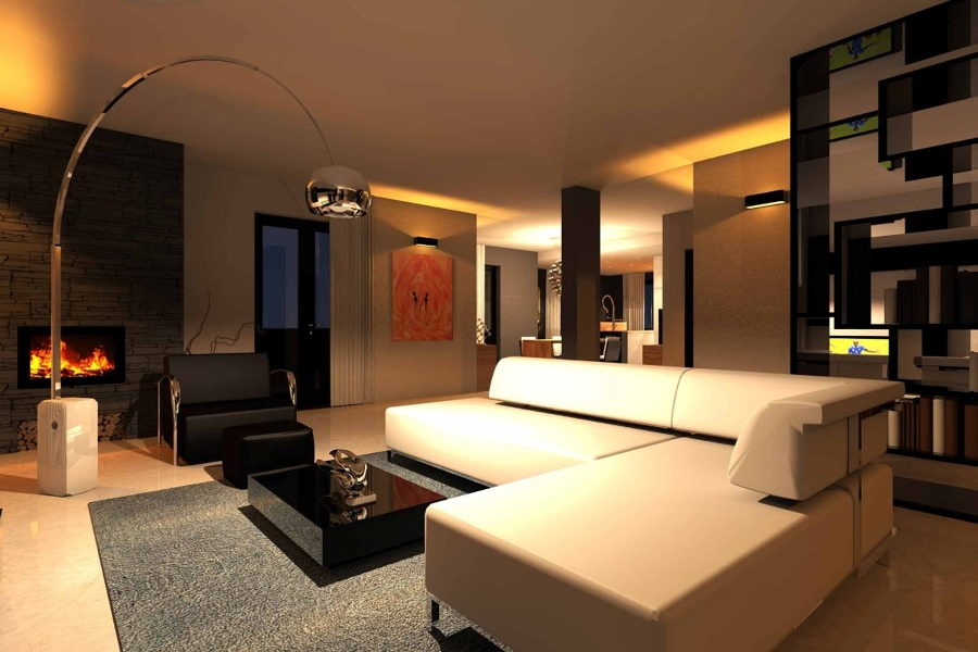 Progetto di realizzazione di interni casa idee for Case moderne interni