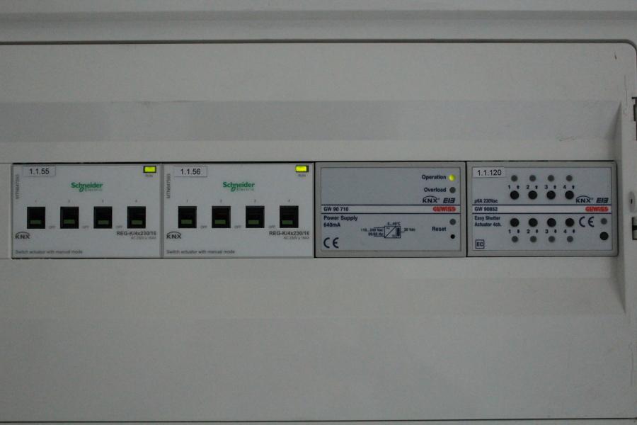 Attuatori domotica KNX