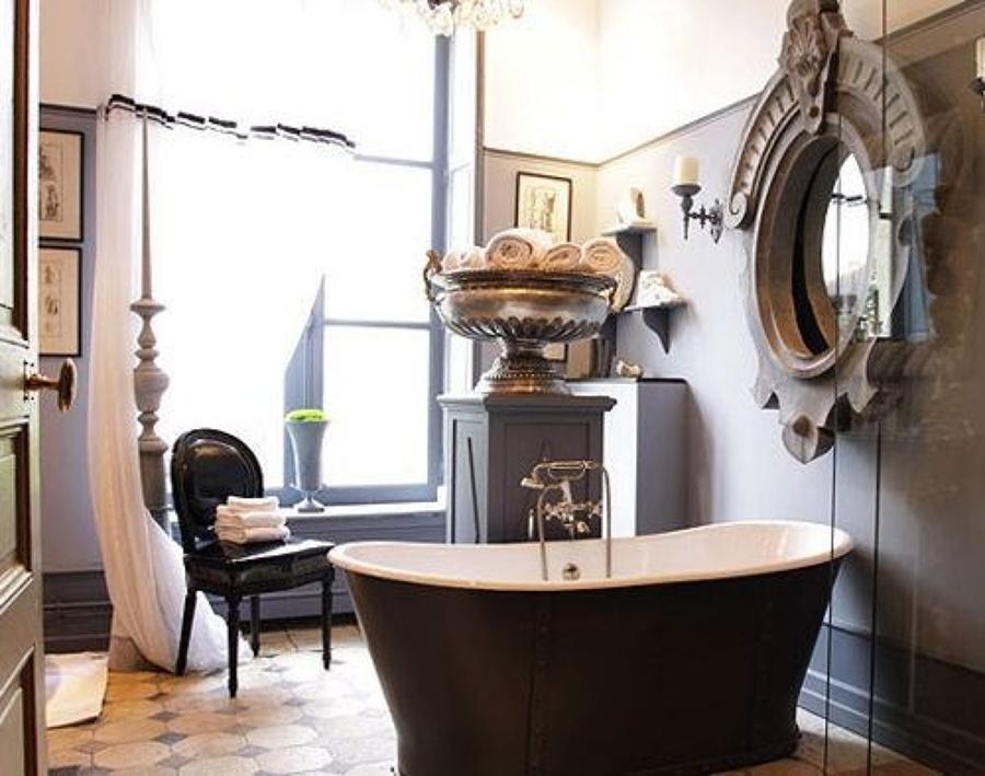 Come arredare il bagno in stile vintage idee mobili for Stile vintage arredamento