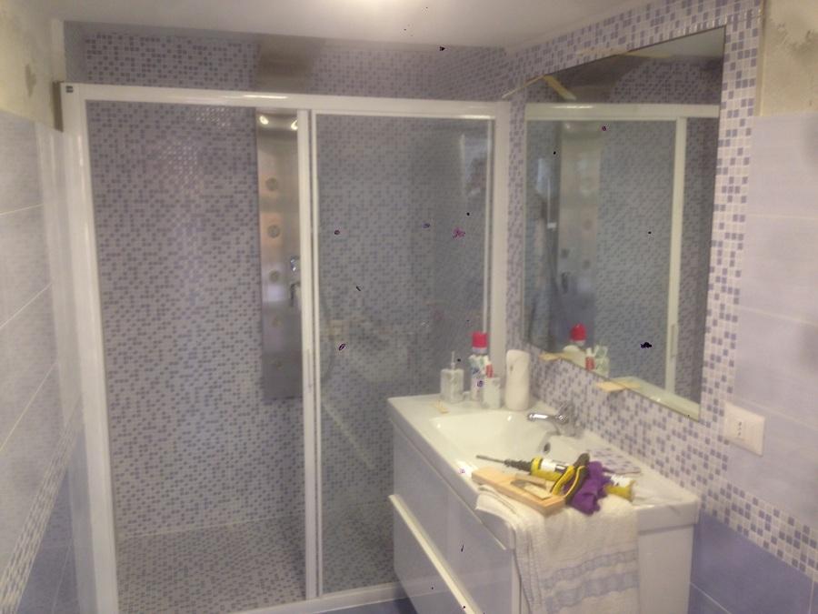 Realizzazione di un bagno da un ripostiglio idee for Idee bagno garage
