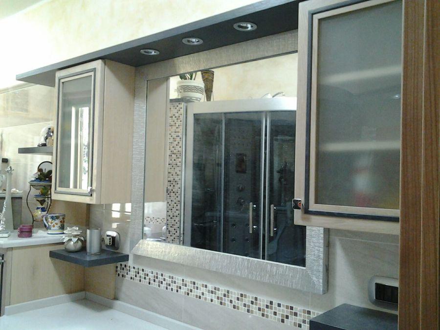 Mobile bagno su misura personalizzato idee falegnami for Finestre rotonde del bagno