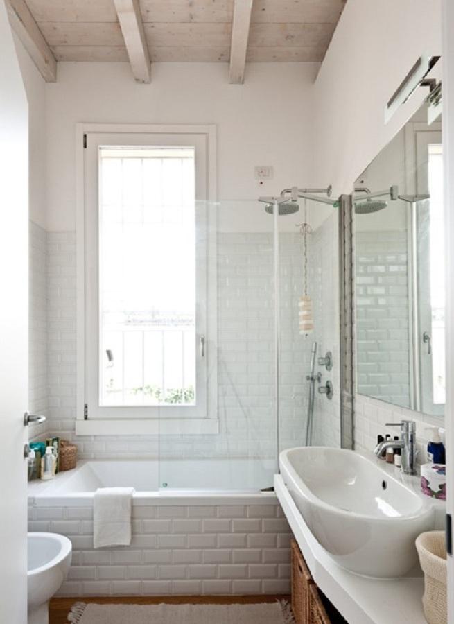 Foto bagno di manuela occhetti 423664 habitissimo - Bagno classico piastrelle ...