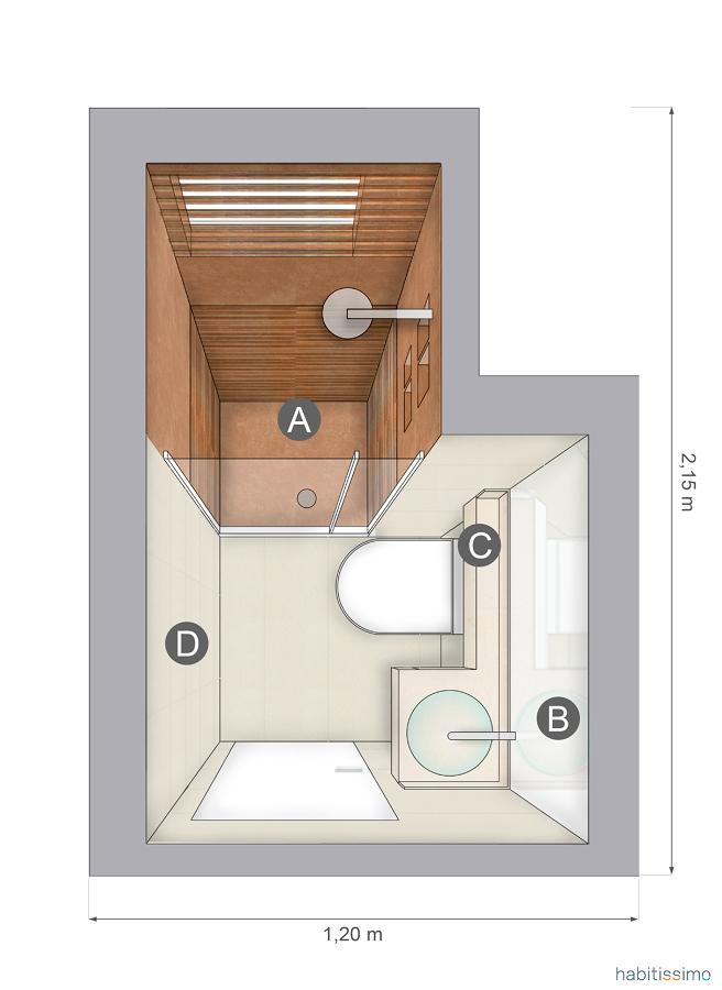 Progettare spazi 4 bagni e i relativi prezzi idee interior designer - Costo water bagno ...