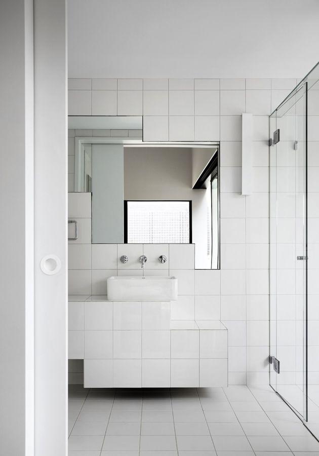bagno bianco moderno