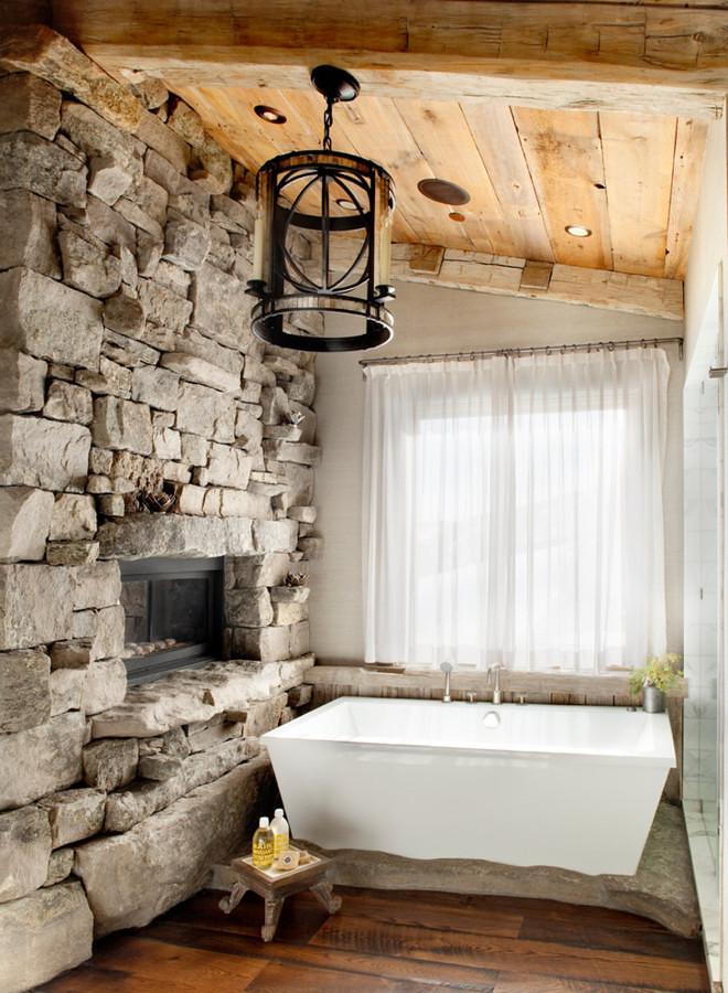 Bagni Rustici: Fascino Naturale In Casa  Idee Interior Designer
