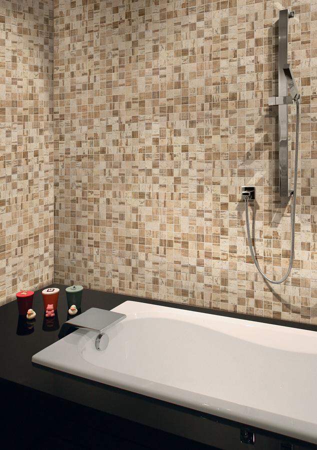 Foto: Bagno con Mosaico di Chiovoloni Costruzioni #376927 - Habitissimo