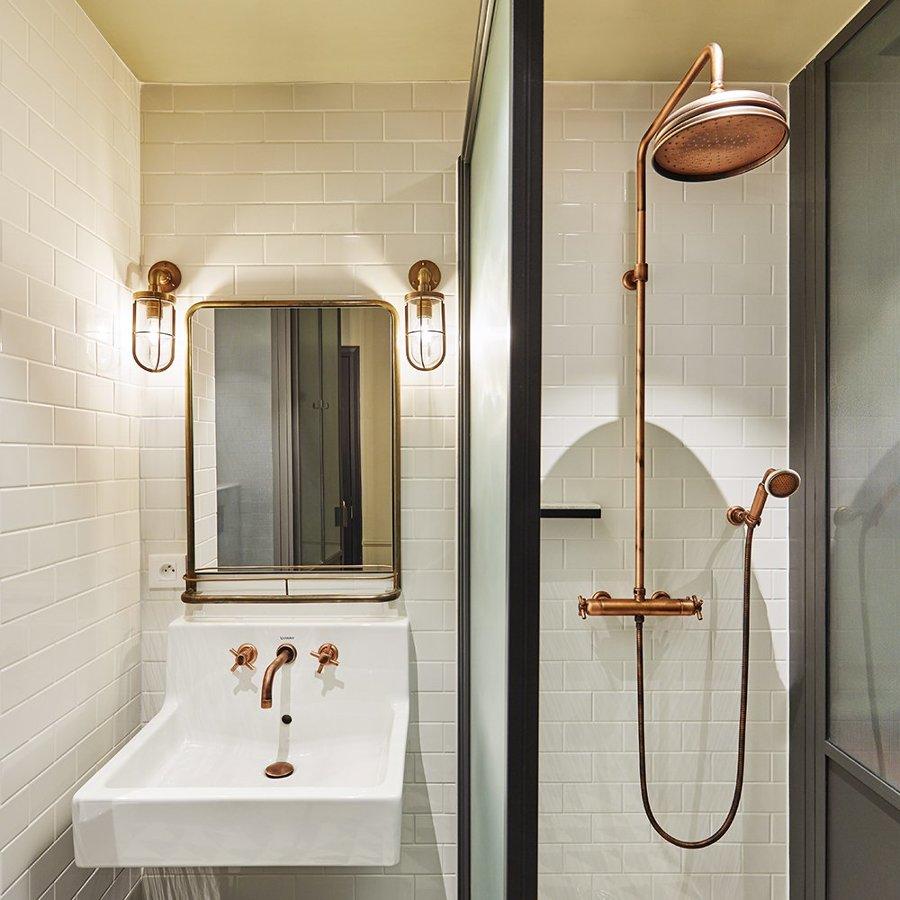 A tutto rame idee di arredo vintage chic idee interior - Rubinetteria retro bagno ...