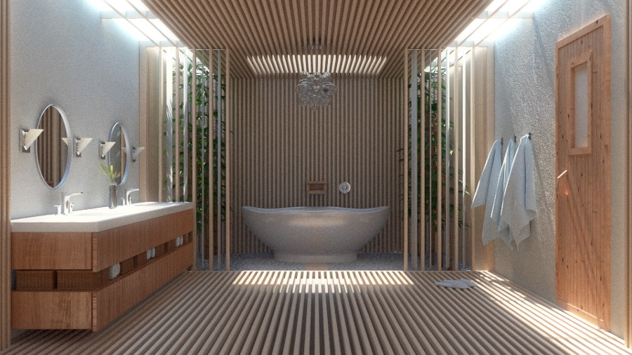 foto bagno con sauna de infinity home recovery and