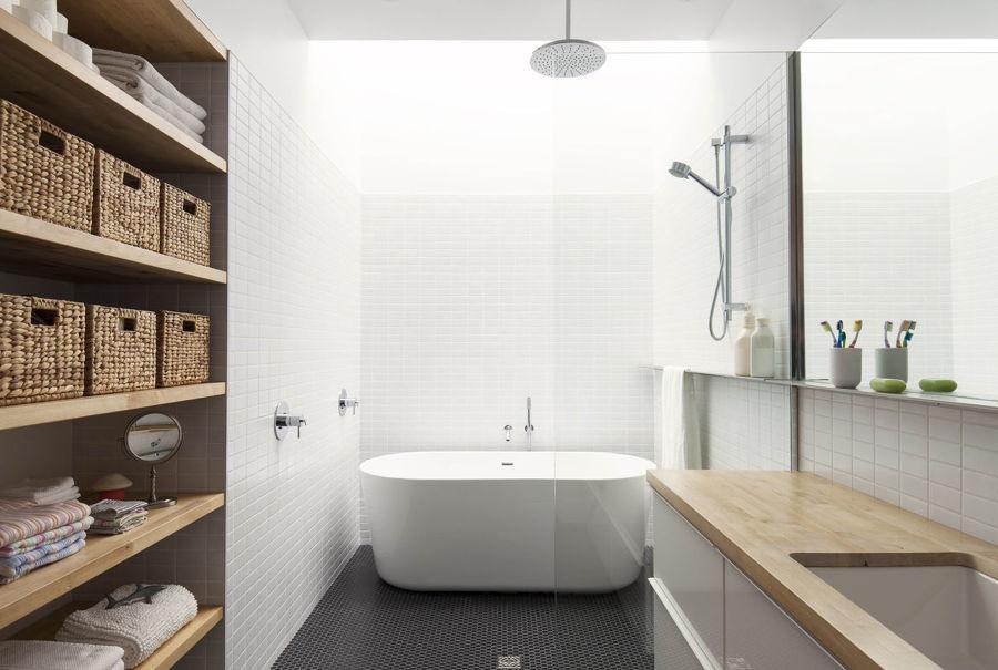 Bagni Piccoli Con Vasca : Bagno piccolo con doccia e vasca: arredare il bagno idee per un