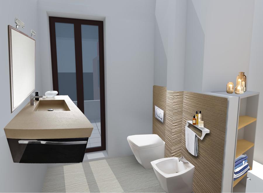 Foto bagno di servizio di ingegnere architetto