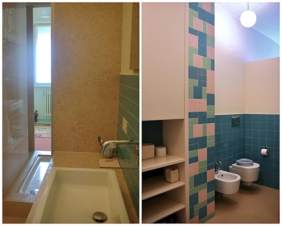 Foto bagno di servizio con doccia passante di studioaria - Foto bagni con doccia ...