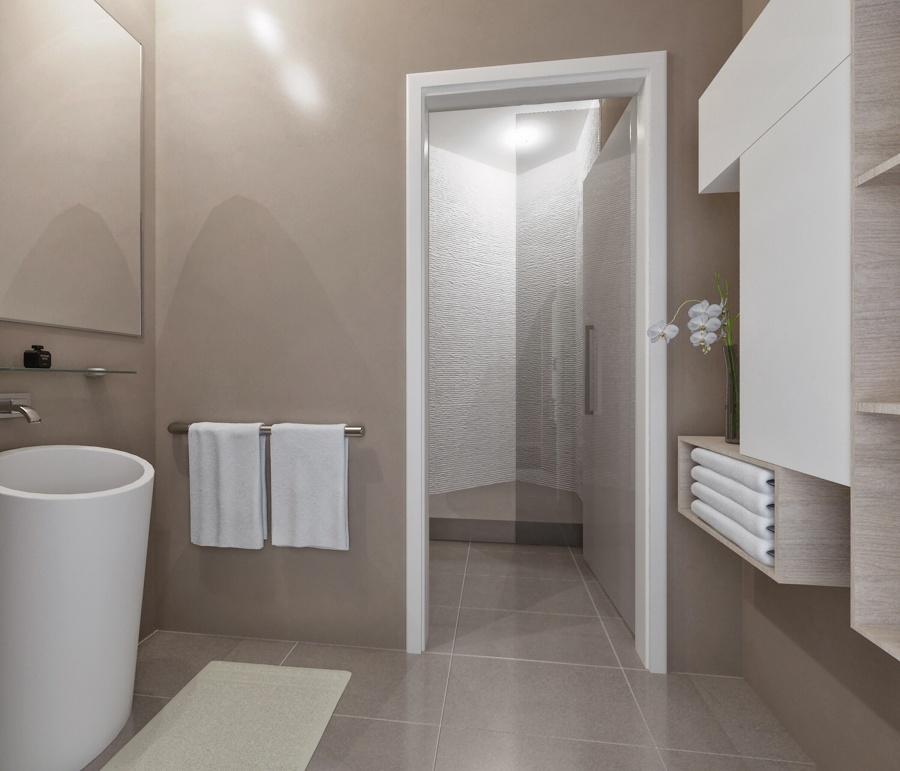 Foto bagno e antibagno piano giorno di arch francesco for Idee del piano di progetto