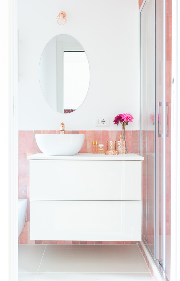 Bagno frontale