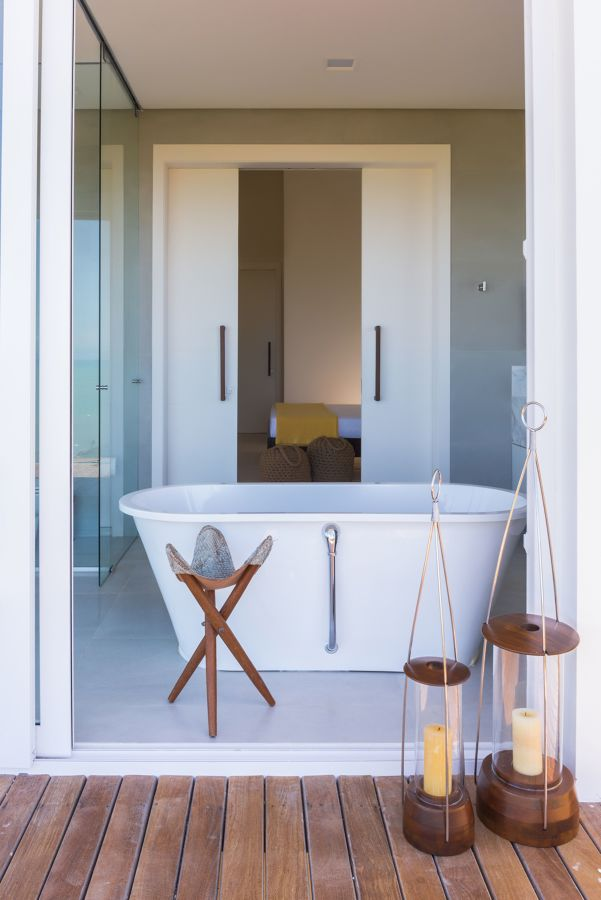 bagno giapponese moderno