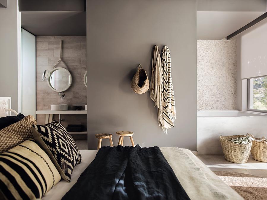 Bagno in camera tanto carattere in pochi m idee ristrutturazione bagni - Bagno in camera ...