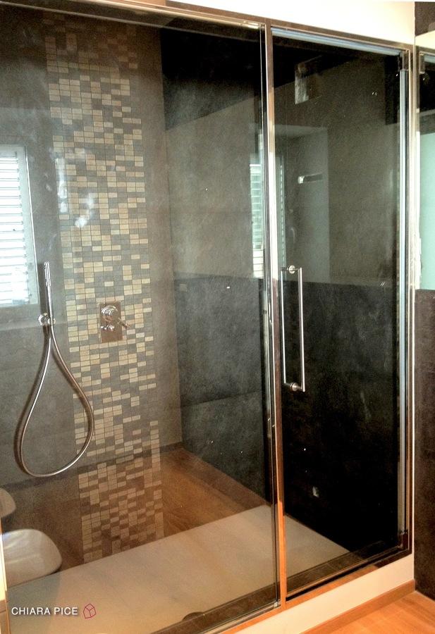 Bagno in camera con doccia/bagno turco