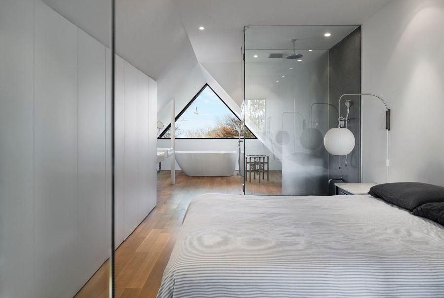 bagno in camera doccia passante