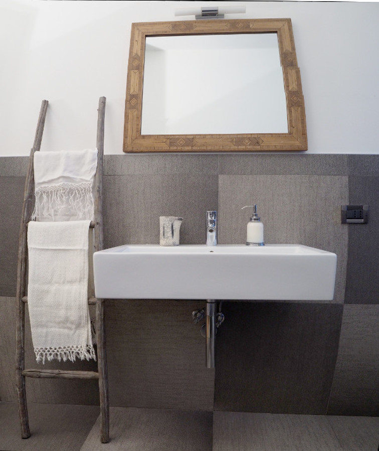 Bagno, la zona lavabo