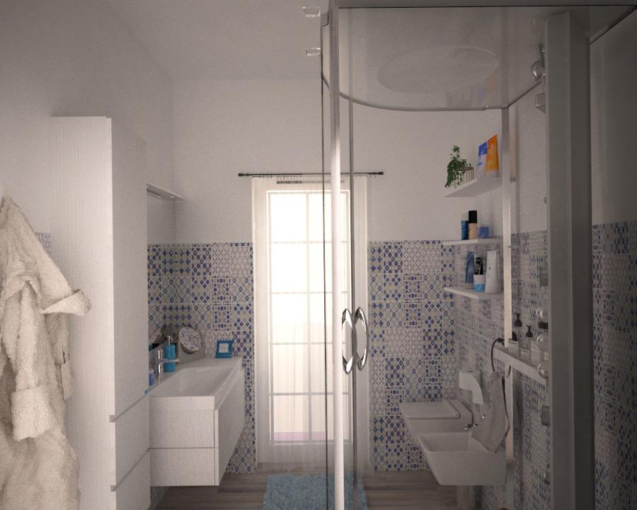 Appartamento contemporaneo idee interior designer - Bagno maioliche ...