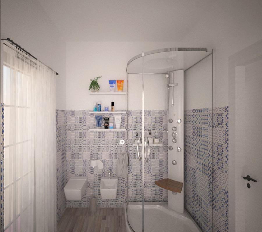 foto bagno maioliche di centoundici interior design