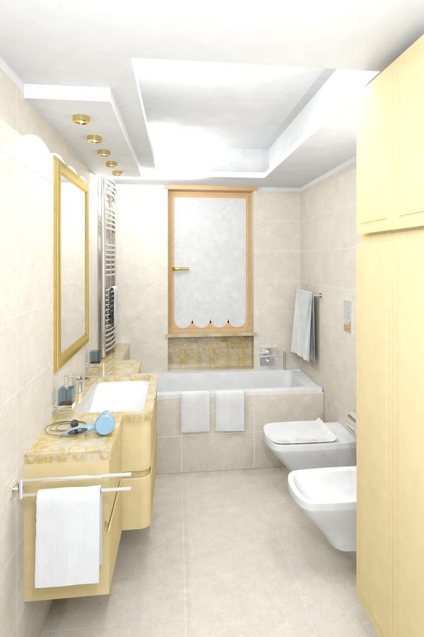Ristrutturazione di bagno in marmo idee ristrutturazione - Bagno di marmo ...