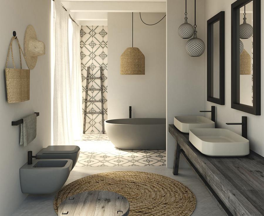stai pensado di ristrutturare il bagno? scegli i giusti sanitari ... - Bagni Moderni Beige