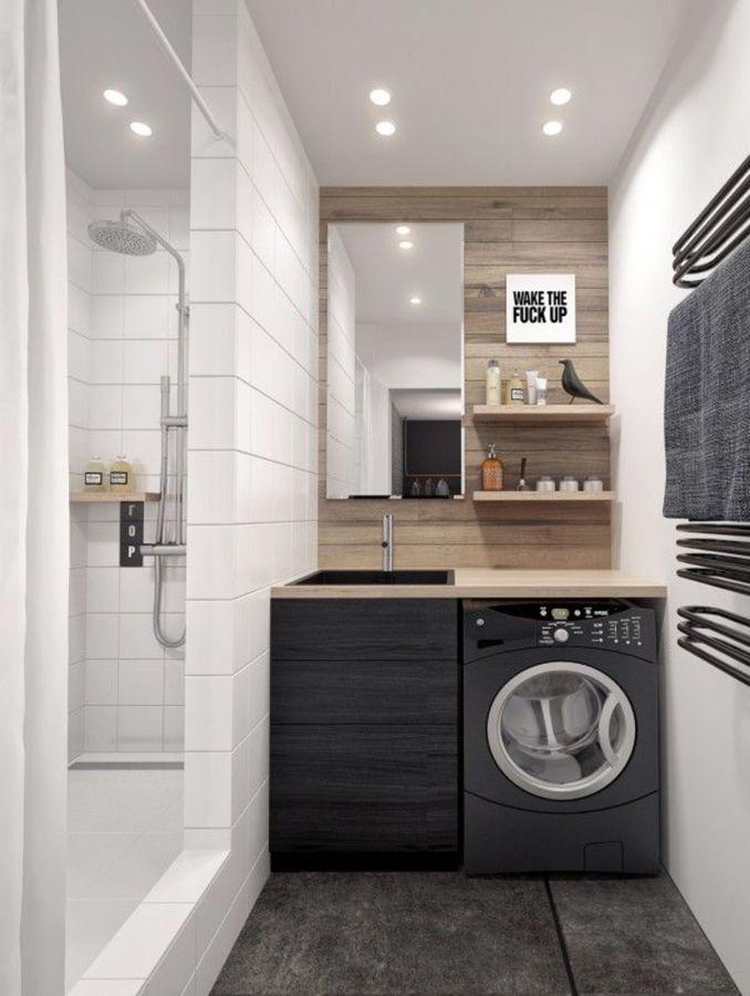 Foto: Bagno Moderno con Lavatrice di Manuela Occhetti #639526 ...