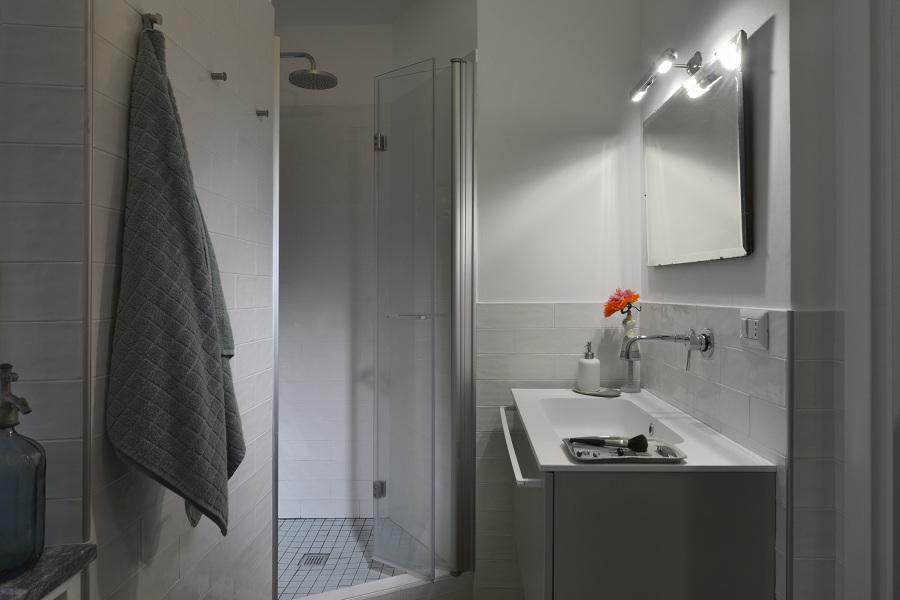 Da casa tradizionale ad appartamento moderno idee - Bagno padronale ...