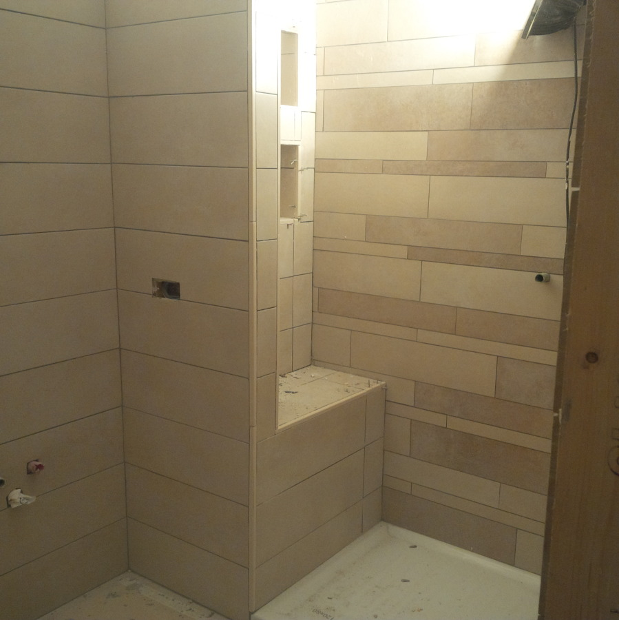 Bagno padronale con doccia su misura